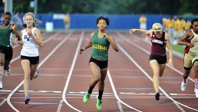 Hillsboro junior sprinter Janel Pate will be among the athletes to watch at this week's Metro Nashville City Championships