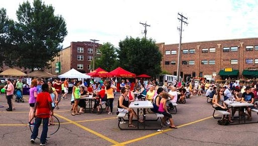 East Bank block parties, held the first Friday of the summer months, will return this year.