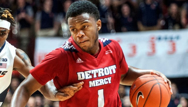 Detroit Mercy guard Corey Allen scored 22 in Saturday's rout of Siena Heights.
