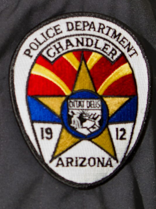 azcentral placeholder Chandler police badge