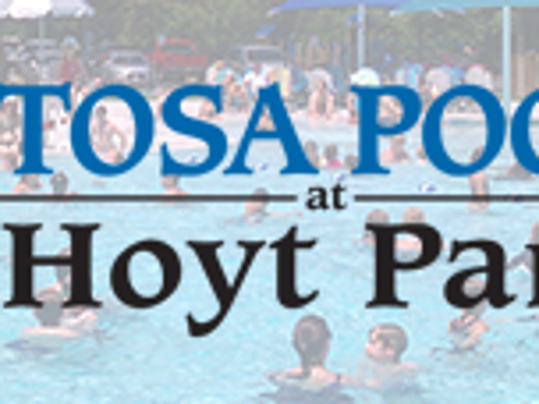 Logo for the Tosa Pool At Hoyt Park.