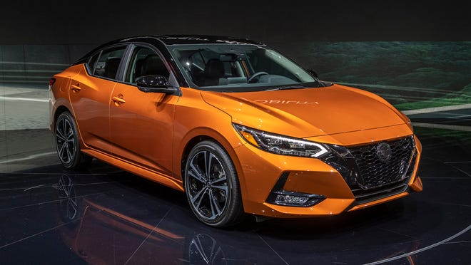 2020 Nissan Sentra SR CVT