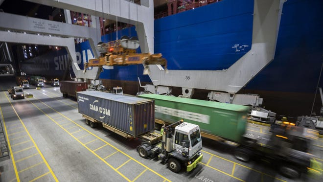 The Georgia Ports Authority handled 4.44 million twenty-foot equivalent container units during the fiscal year 2020, which was down less than 1% compared to last year due to COVID-19 related disruptions.