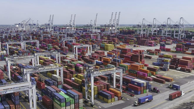 During the first five months of 2020, the Port of Savannah moved the highest number of export containers of any U.S. port capturing 12% of the market share. More than 590,000 twenty-foot equivalent container units of loaded exports moved through the Garden City Terminal during the first five months of the year.