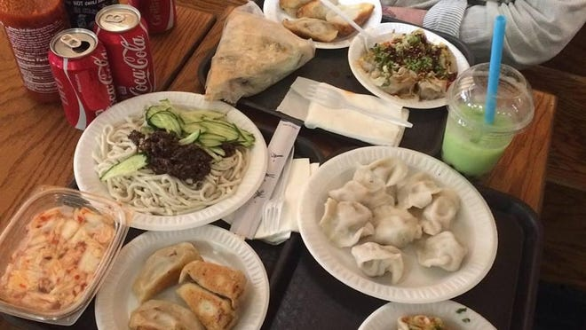 """Recovery lunch #1,"" read Milktooth chef Jonathan Brooks' Facebook post from Vanessa's the morning after some of the chefs' first night in the city. The family run Asian shop, in business since 1999, uses the recipes passed down by the owners' parents and grandparents."