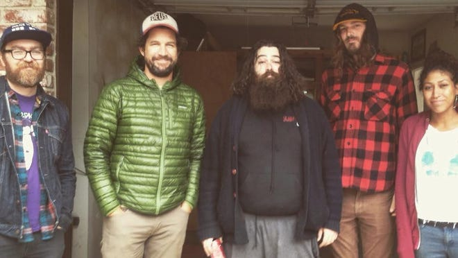 Dirty Limbs is composed of Jonathan Hadden, Luke Giffen, Casey Burton, Audery Johnson. They perform Friday at the Cellar Door in downtown Visalia.
