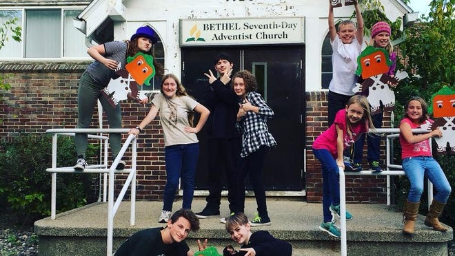 """The Downeaster, at 1120 N. Pennsylvania Ave. in Lansing has brought to the boards 11 area youths, ages 8-14, from Lansing, Eaton Rapids, Haslett, and Holt for """"Charlie and the Chocolate Factory."""""""