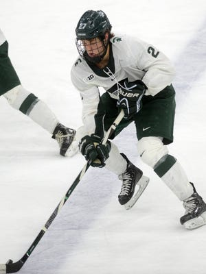 Michigan State forward Mason Appleton has decided to begin his pro career, signing with the Winnipeg Jets.