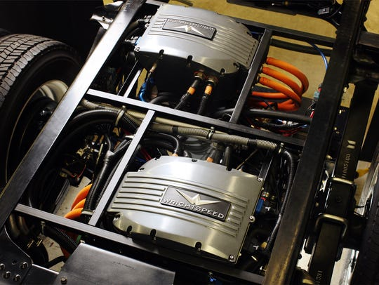 Wrightspeed makes electric motors for trucks, which