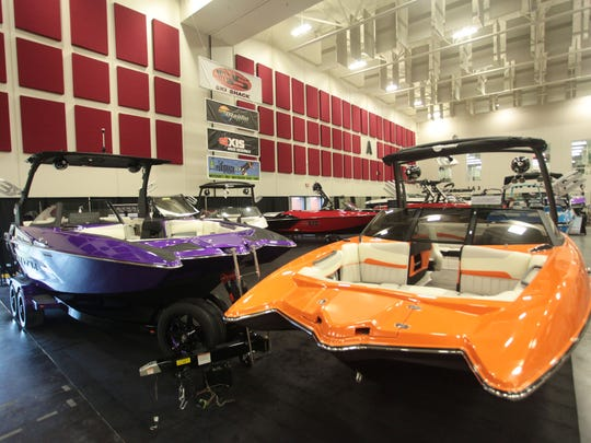More than 160 boats,  all 2015 models, will be on display at the Lake Life Expo.