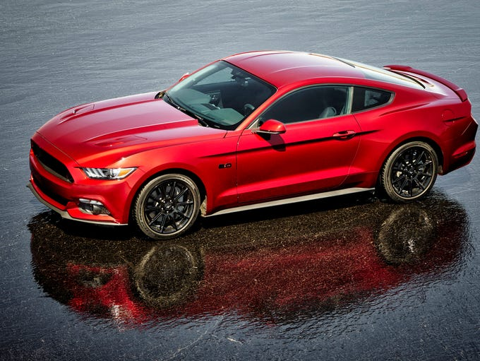 This is the 2016 Ford Mustang GT.