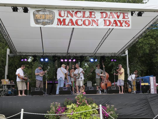 The annual Uncle Dave Macon Days Music and Arts Festival