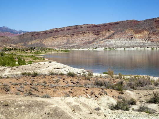Quail Creek Reservoir experiencing lower water levels