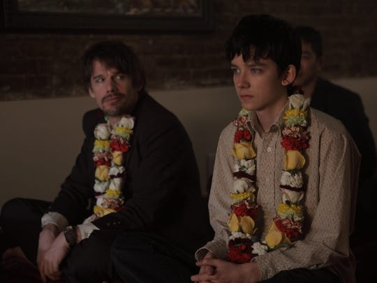 "Ethan Hawke and Asa Butterfield star in the film ""Ten"