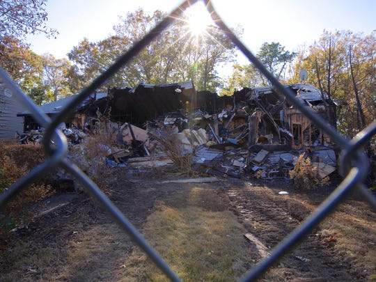 Mr. Ben's house was destroyed by fire Oct. 13.