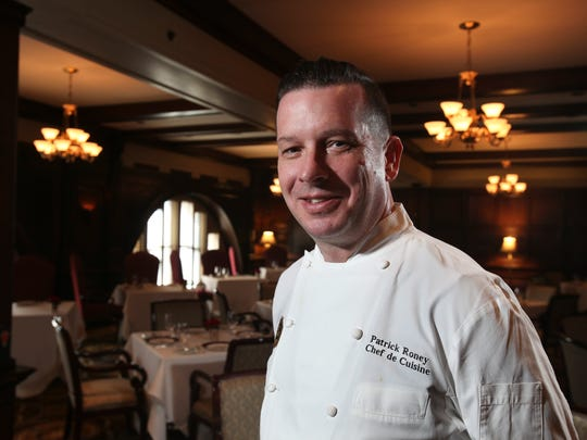 Chef de Cuisine Patrick Roney of the Oakroom at the Seelbach Hilton.Oct. 20, 2015