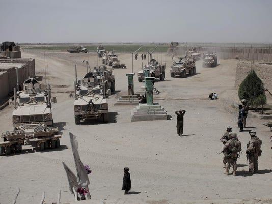 AFP AFGHANISTAN-US-MARINES I WAR AFG HE