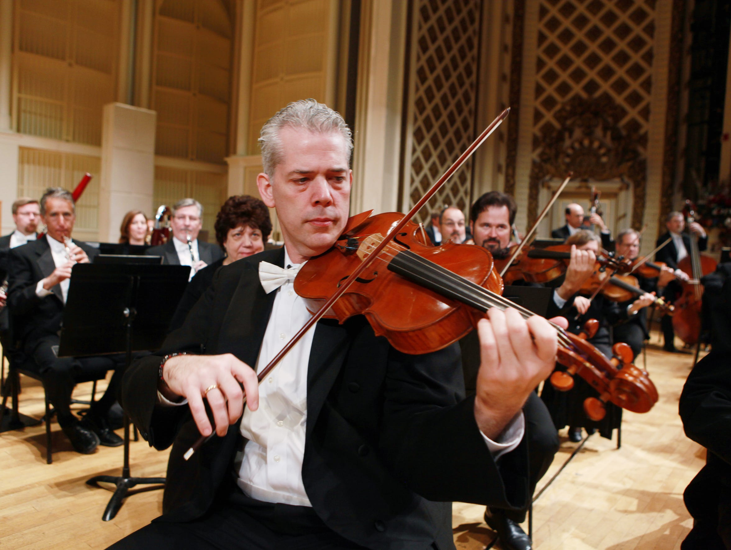Christian Colberg heads the viola section of the CSO.