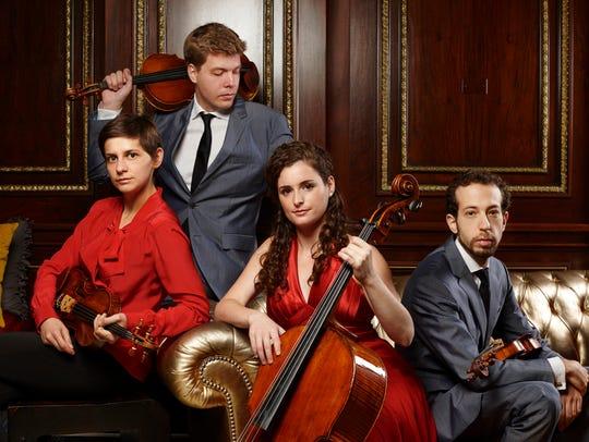 The Ariel Quartet -- Alexandra Kazovsky, Jan Grüning,
