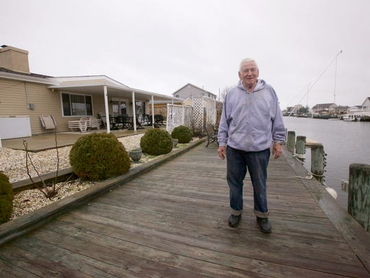 Benjamin Morrow is living in a waterfront home in Forked River.
