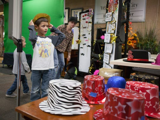 Families celebrate New Year's Eve at the Washington City Community Center during a past iteration of the event, which is back again this year and available to families to ring in 2019 together.