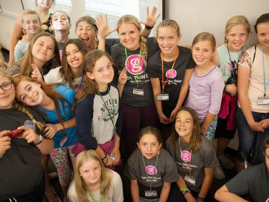 Girls learn about coding, hacking, design and computer