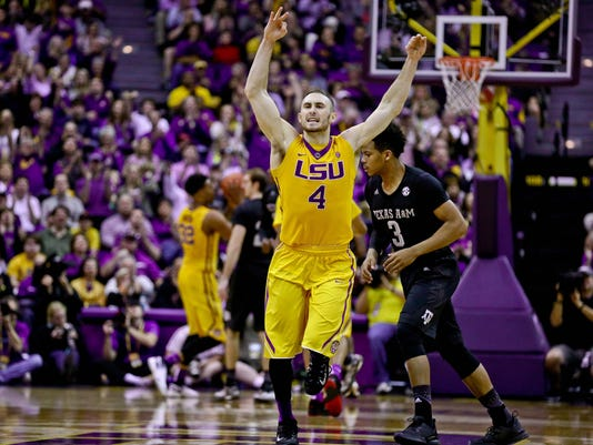 NCAA Basketball: Texas A&M at Louisiana State