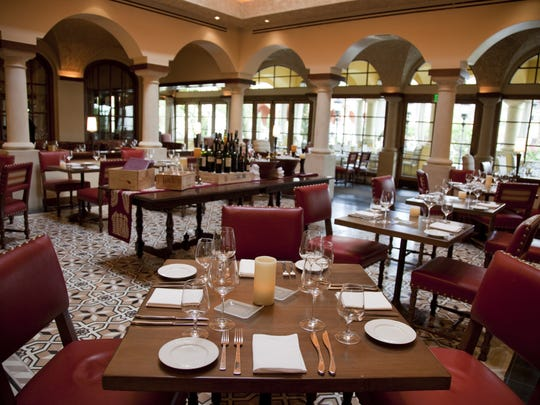 The dining room at Prado at the Intercontinental Montelucia