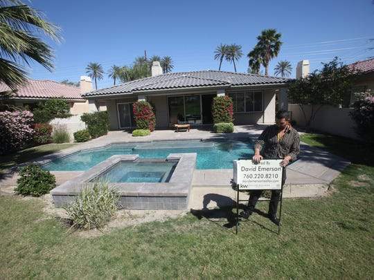 David Emerson has been selling properties to Canadians over the last years. He has now seen a trend of Canadians selling their properties to get their return in their investments. This PGA West home is being sold by Canadians
