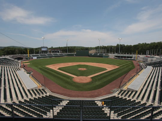 Provident Bank Park in June 2011, the day before the