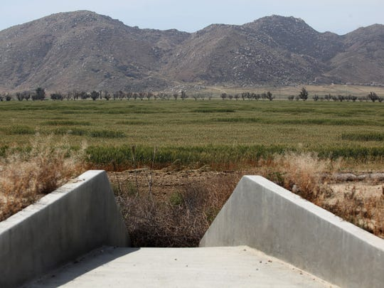 View of the proposed site of the World Logistic Center
