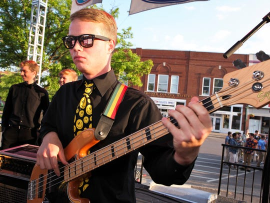 JazzFest on the Square in downtown Murfreesboro is just one of many cultural events in Rutherford County.