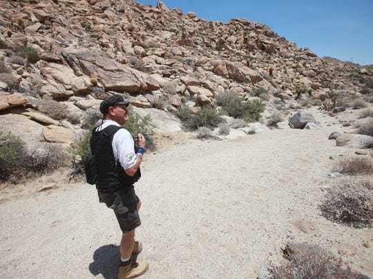 Rafael Hernandez Larraenza has spent 19 years searching remote parts of the southern U.S. border for undocumented migrants who get lost while crossing into the United States. His first search was in the Jacumba Mountains in the southwest part of Imperial County.