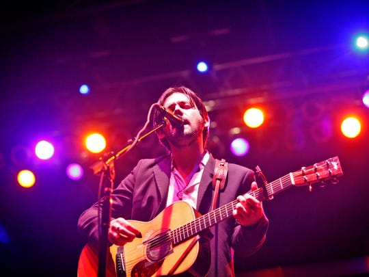 Conor Oberst headlines Friday night at 80/35 on July 4, 2014.