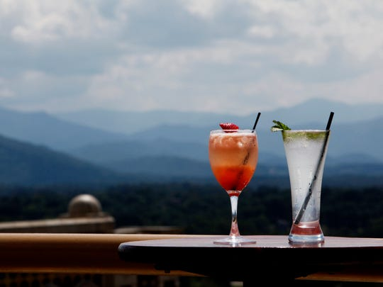 Sky Bar is among the most popular spots in Asheville for a sip and a view.