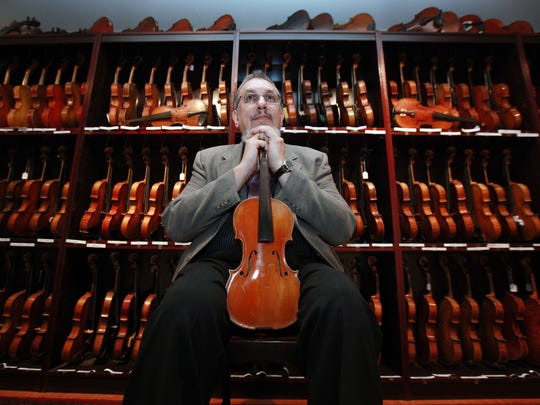 The Library of Congress announced in 2016 it will acquire a 263-piece violin collection of Wilmington-based musician David Bromberg.