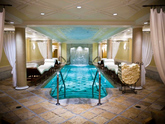 The Kohler Waters Spa is one of only 47 Forbes Five-Star