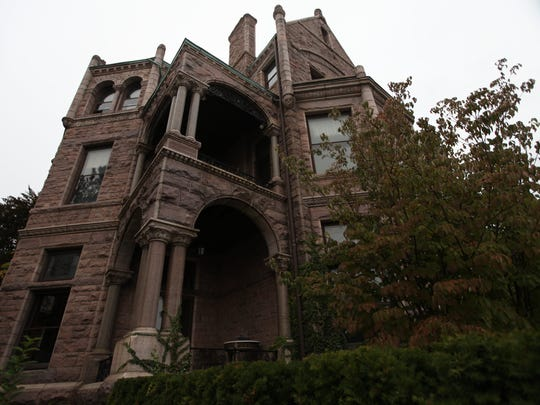 The Whitney restaurant. The mansion built by David Whitney in the late 1800's is said to have spirits lingering around. photo taken Monday, October21,2013.