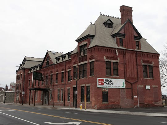 Present-day Nick Tahou's on West Main Street, the former Buffalo, Rochester and Pittsburgh railroad.