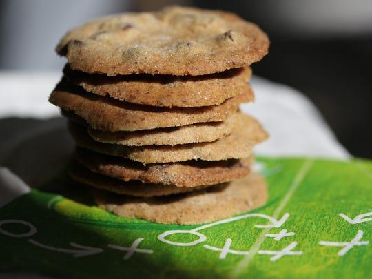 Mocha chocolate chip cookies.