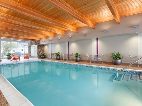 The Home2 Suites By Hilton planned at One Bellevue Place will have an indoor pool.
