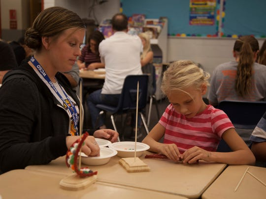 Local professionals teach STEM subjects to students