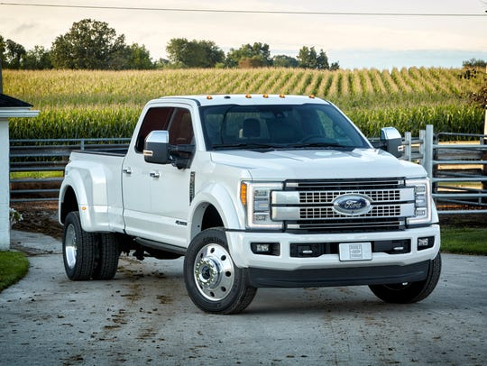 The all-new 2017 Ford F-Series Super was named 2017