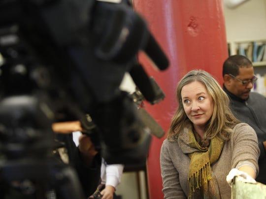 Sarah Lindgren, Public Art Administrator for the Metro