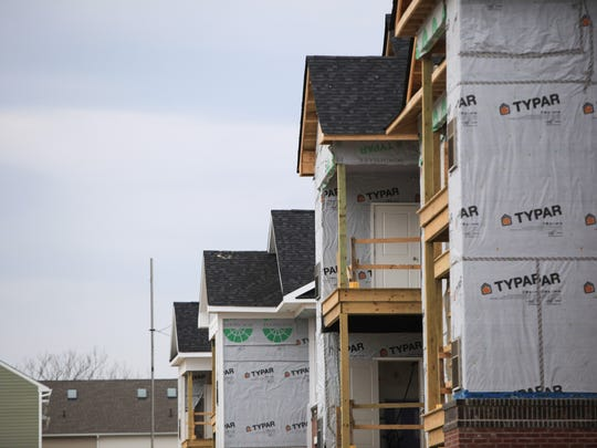 Construction continues on the next phase of Darley Green in Claymont.