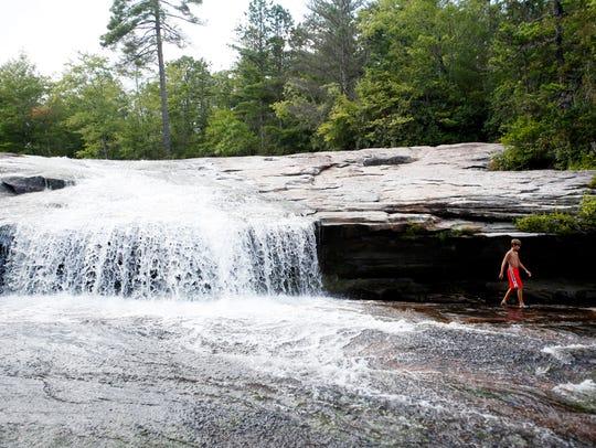 Bridal Veil Falls in DuPont State Forst September 4,