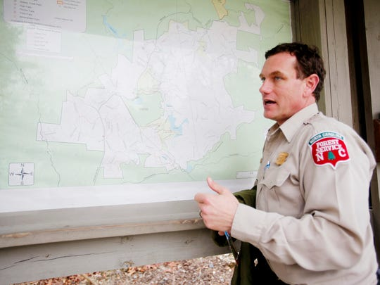 DuPont State Forest Supervisor Jason Guidry discusses
