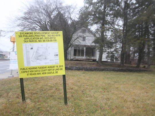 The Weldin House on Philadelphia Pike has sat vacant for years. Local politicians want the state to repurchase the property that the state sold to a development group a decade ago.