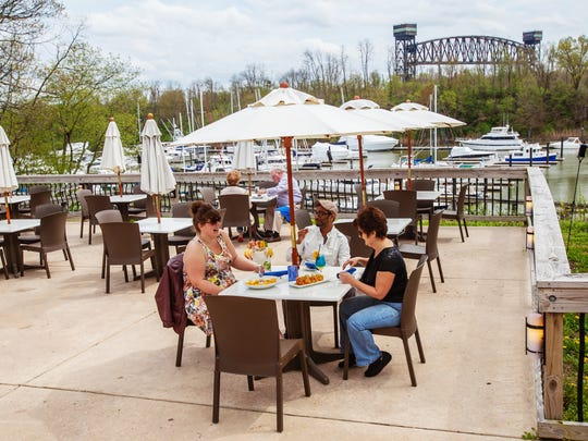 News Journal file photo A 2013 photo of Aqua Sol's patio overlooking the Summit Point Marina.