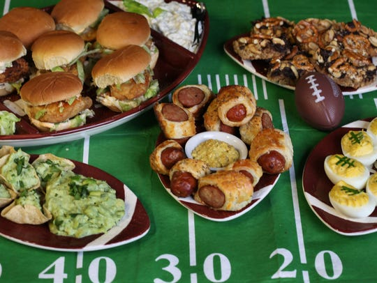Super Bowl Food.